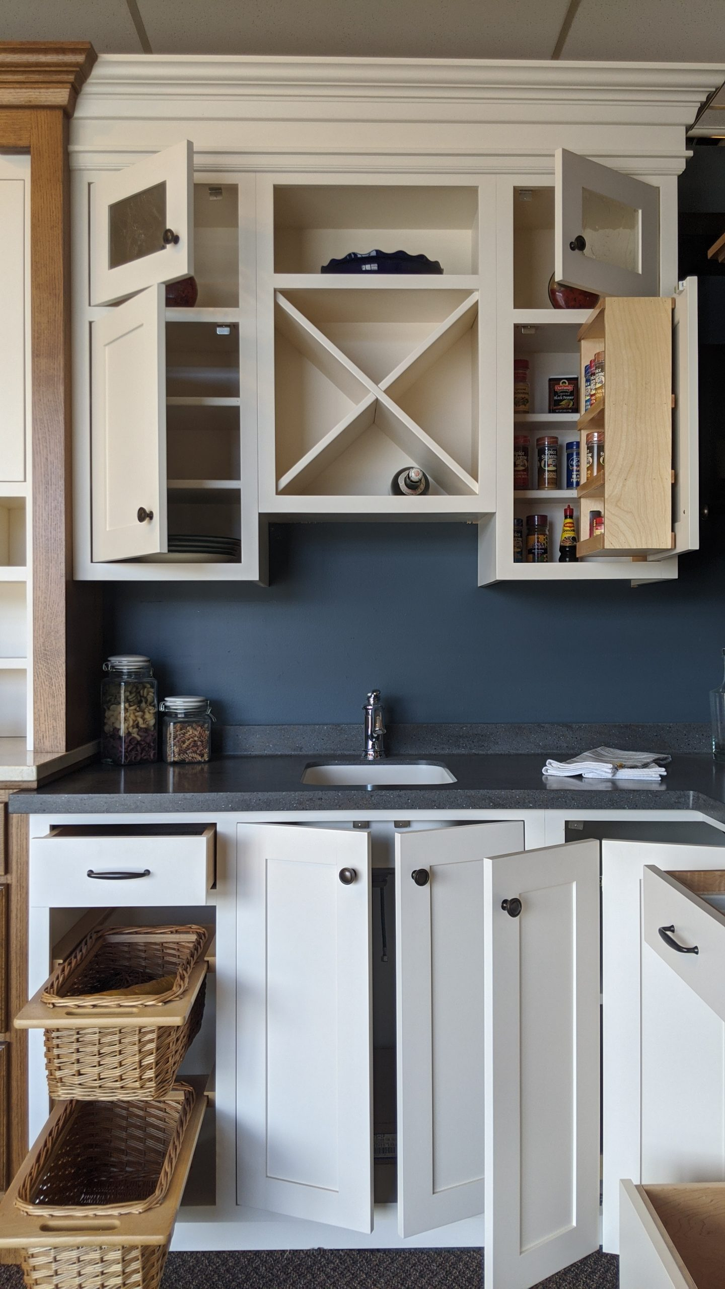 Moving Sale! White Inset Kitchen | Braaten Cabinets
